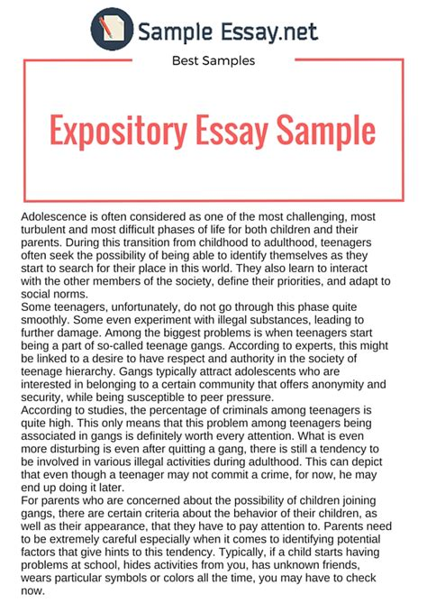 expository essay topic ideas writing tips and sample   own