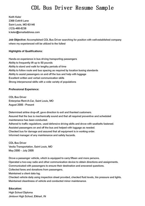 Chauffeur driver resume sample best format - Own-loose.ml